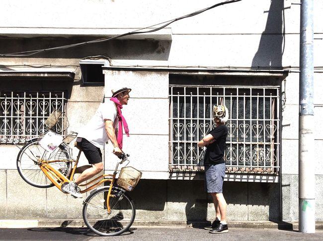 【ザ壁部】mamotoraman & ka_nai| The Action Photographer - 2015 EyeEm Awards The Fashionist - 2015 EyeEm Awards Street Photography Street Fashion Streetphoto_color Street Life Street Portrait Model Color Portrait On Your Bike My Best Photo 2015
