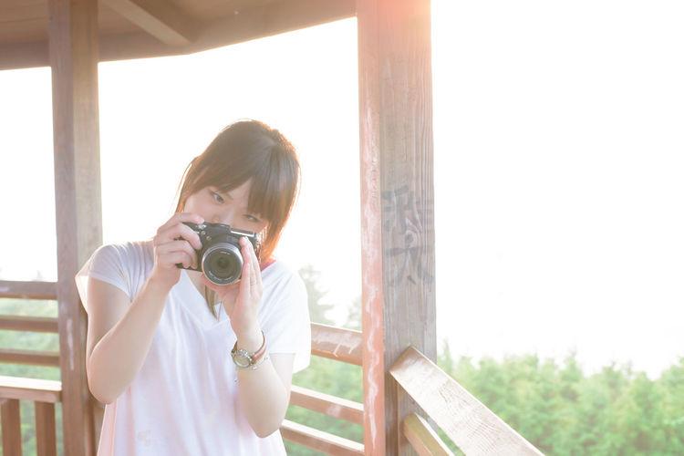 旧レンズ Nikon Girl Portrait ポートレート 女の子 Nikon女子
