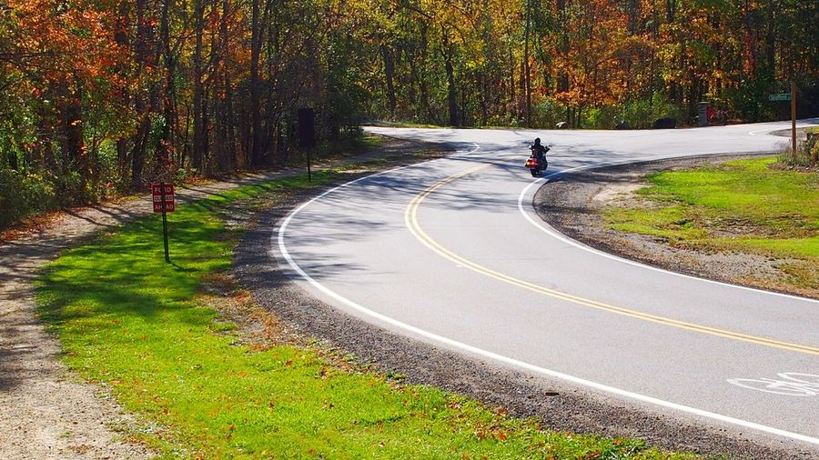 Mortorcycle riding on sunny Autumn day Road People One Person Curve Outdoors Tree Day Only Men Adult Adults Only Grass Men Nature One Man Only Cleveland Ohio Backgrounds Copy Space Bradleywarren Photography Bradley Olson Room For Copy Background Motorcycle Motorbike Riding My Motorcycle