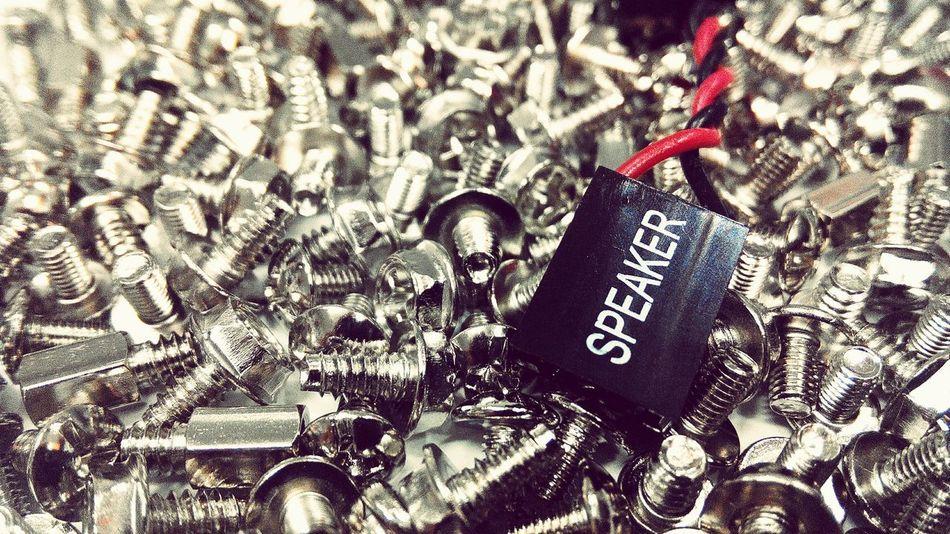 Screw сталь Железо Болты гайки металл Steel Screw Metallic Speeker