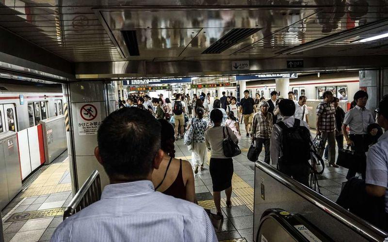 People Train Station Transportation Busy Bees Japan BYOPaper! The Photojournalist - 2017 EyeEm Awards EyeEmNewHere EyeEm Best Shots
