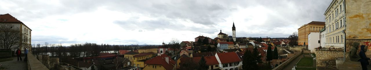 Panoramic Photography Panoramic Landscape Panorama Litoměřice Medieval Old Town Church