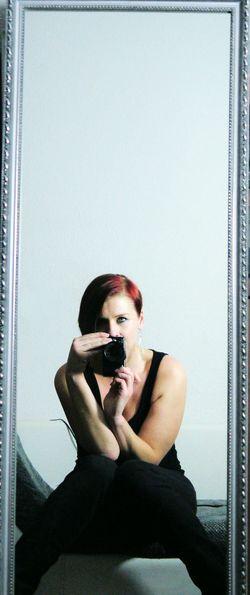 Greeneyedgirl NEM Self Self Portrait Portrait Mirror Portrait Of A Woman EyeEm Best Shots - People + Portrait