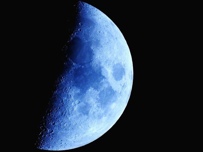 Space Blue Astronomy Science Beauty In Nature Moon Planet - Space Ethereal Space And Astronomy Nature Black Background Close-up Abstract Moon Surface Astrology Galaxy No People Night Sky Star - Space EyeEm Best Shots Blue Moon You Saw Me Standing Alone