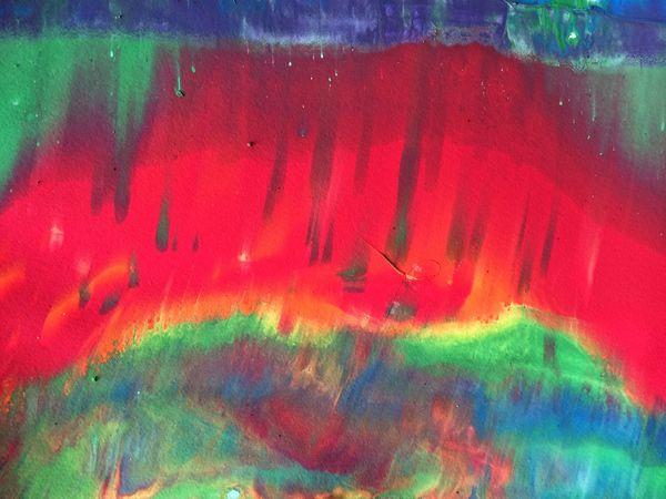 Paint splatter Paint Rainbow Marbling Tempera Painting Abstract Streaks