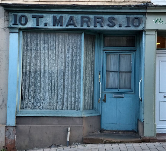 10T. MARRS.10 - Penrith Penrith, United Kingdom Penrith Mysterious Mysterious Door Window Wood - Material Business Finance And Industry Door Façade Closed Architecture Close-up Building Exterior Built Structure Entryway Entry Entrance Bad Condition Deterioration Weathered Run-down Peeling Off Front Door Doorway Closed Door