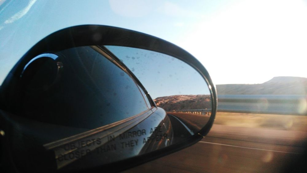 Car Travel Transportation Mode Of Transport Sky Outdoors Horizontal Stationary Day No People Side-view Mirror Close-up Nature Vehicle Mirror Motorsport Ford Mustang Fastcar