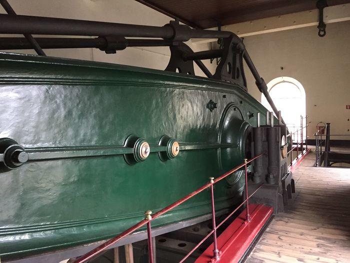 Steam Power Plant Steam Power Old Fashion Olden Days Beam Pump Metal Architecture Travel Day