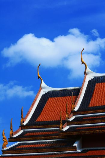 Architecture Architecture Photography Architecture And Art Architecture And Sky Thailand Architecture Roof Of The Building Thai Temple Architecture Color Architecture Collection ใน Thailand