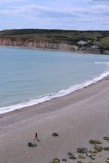 sea view from the seven sister cliff Beach Life Beach Time No Filter Quite Moments Seven Sisters Beachphotography Nature_collection Seven Sisters Cliffs Seven Sisters Country Park
