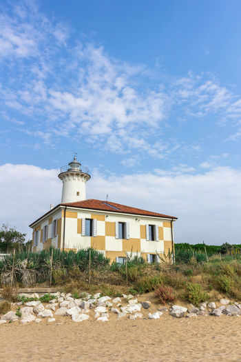 Italy Adriatic Architecture Beach Bibione Building Clouds Coast Coastal Day Down Exterior Holiday Holidays House Landmark Landscape Lay Lighthouse Marina Morning Mouth Nature Relax Resort River Sand Sea Shadow Shore Sky Solitude Structure Summer Sun Sunset Tagliamento Tourist Tower Travel Vacation Veneto