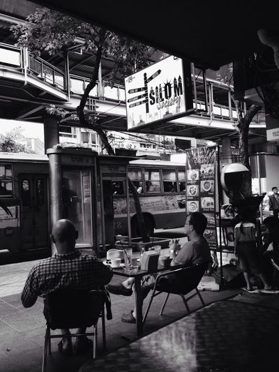 Silom Coffee And Cigarettes Black And White Authentic Moments Just Around The Corner