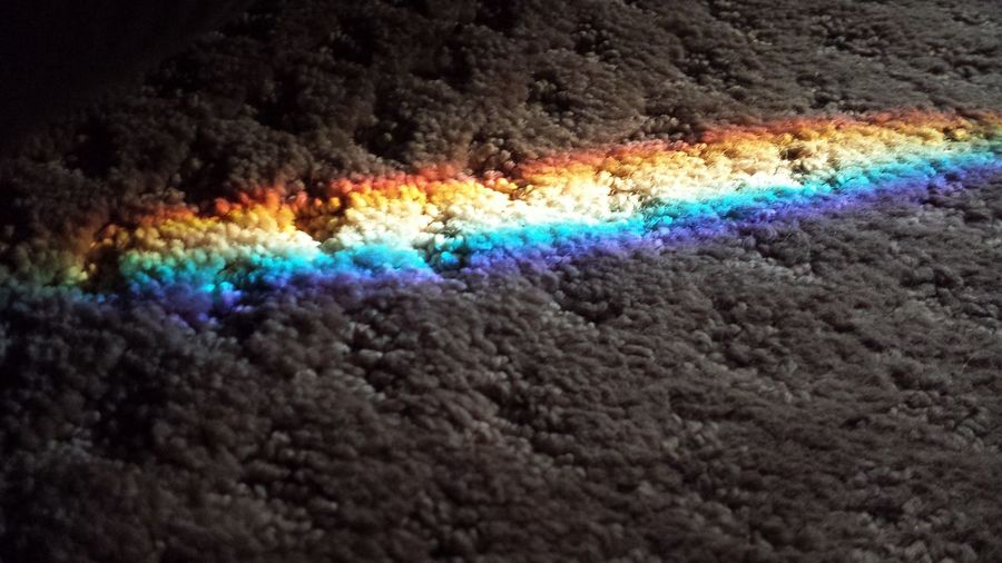 Rainbow Spilled onto the Carpet Rainbow Carpet