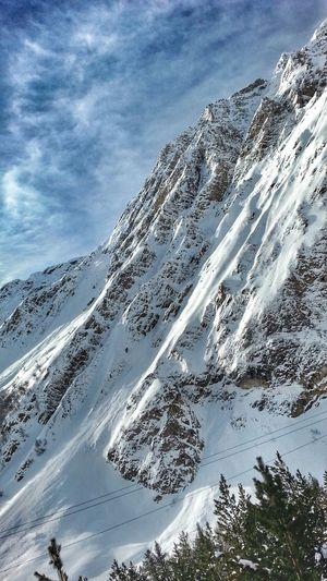 """""""Лучше гор могут быть только горы, га которых еще не бывал""""... Mountains Nature_collection Nature Landscape Snow Winter Sky Collection Clouds And Sky Open Edit EyeEm Best Shots"""