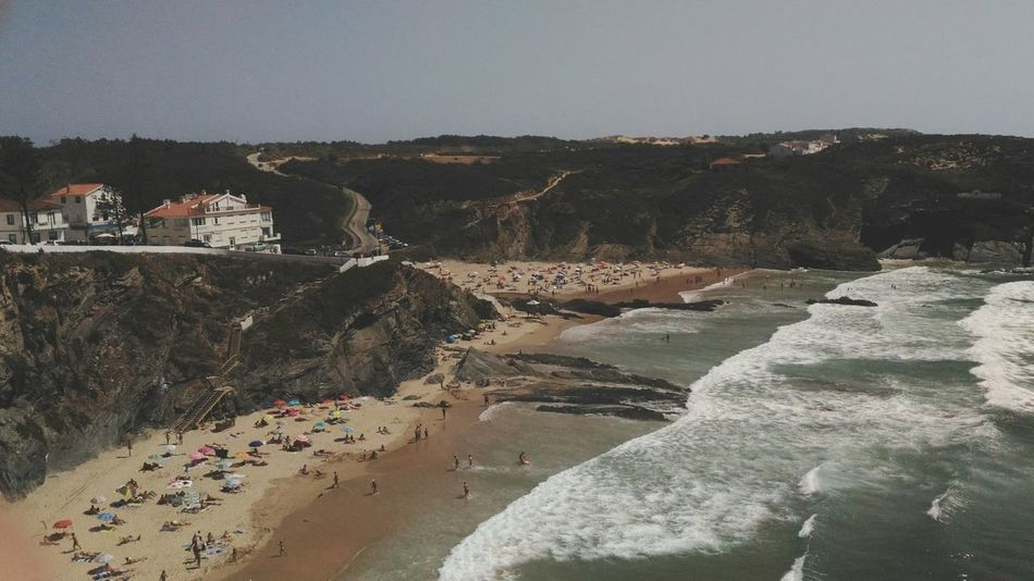 Outdoors Beach Day Sea Sky Zambujeira Do Mar Portugal People Summer Summer Time  Vacation Time EyeEm Selects Sand Dune Water Nature Sand Your Ticket To Europe Investing In Quality Of Life The Week On EyeEm