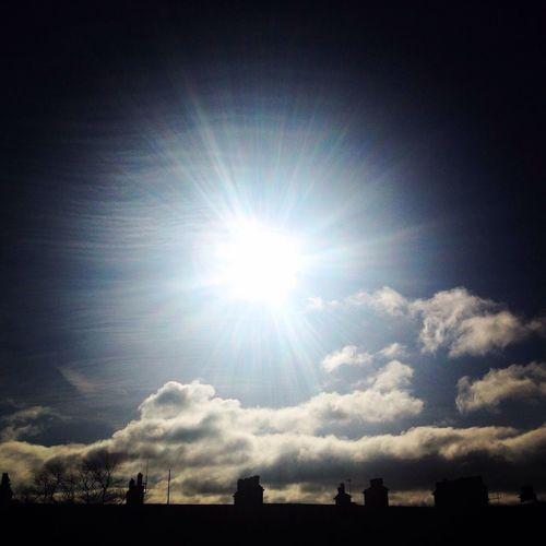 Soaking Up The Sun Eclipse2015 SunshineonLeith