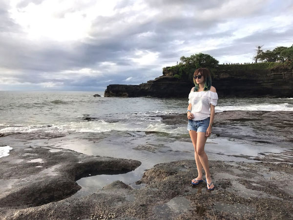 💙🌊 Life Is A Beach 🌊💙 Travel Tanah Lot Wave Bali Bali, Indonesia Scenics Beach Beauty In Nature Cloud - Sky Exceptional Photographs Travel Destinations Landscapes Nature One Person Outdoors People Portrait Sea Young Adult Young Women Tadaa Community That's Me Uniqueness Miles Away Women Around The World Long Goodbye The Portraitist - 2017 EyeEm Awards Sommergefühle Done That. Been There. An Eye For Travel