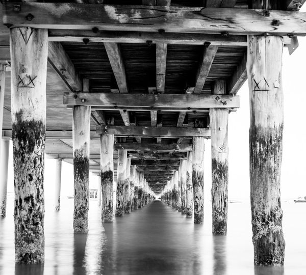 Underneath the bridge. The Great Outdoors With Adobe My Favorite Photo Hello World By The Sea Long Exposure Underneath Underneaththebridge Landscape Black And White EyeEm Best Shots Stunning Silky The Great Outdoors - 2016 EyeEm Awards Break The Mold