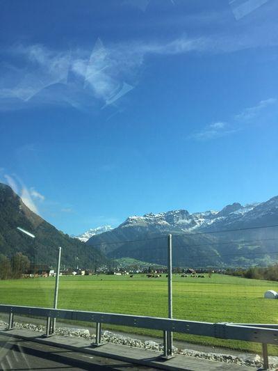 路过瑞士。