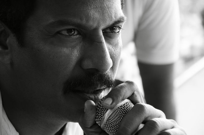 Samuthirakani Potrait The Portraitist - 2016 EyeEm Awards Black & White Indiapictures Director Moviedirector Tamilmovie Ashakrishnaphotography EyeEm Best Shots - People + Portrait EyeEm Best Shots EyeEm Gallery