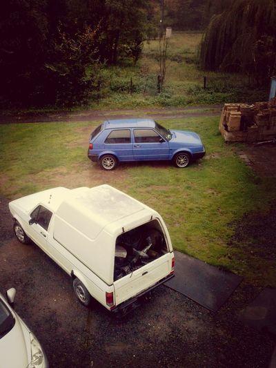 VW Mk2 Golf And caddy mk1 <3