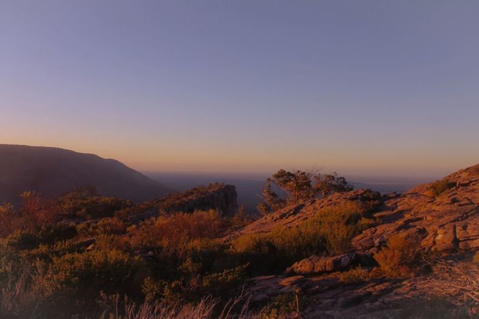 Golden hour Nature Scenics Beauty In Nature Tranquility Mountain Tranquil Scene Landscape Mountain Range Sunset Sky Golden Hour Grampians Sunlight Sunshine Warmth Warmthandsunshine Warm Colors Nature Photography Nature On Your Doorstep Naturephotography EyeEmNewHere