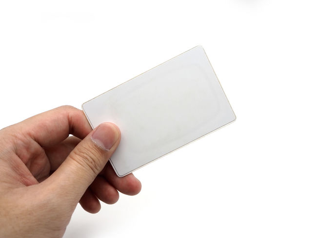 Hand holding an empty white card isolated on white background. Human Hand Human Body Part Hand Holding White Background Studio Shot Copy Space Human Finger Finger One Person Body Part Unrecognizable Person Blank Communication Cut Out White Color Indoors  Women Paper Human Limb