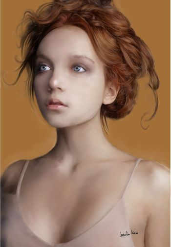 I use Wacom & Corel Painter......Digital Art Digitalpainting Face Woman Portrait ArtWork Corel Painter Wacom Portrait Of A Woman Portrait Painting Painter Color Portrait Coloredpainting Jacqueline Schreiber