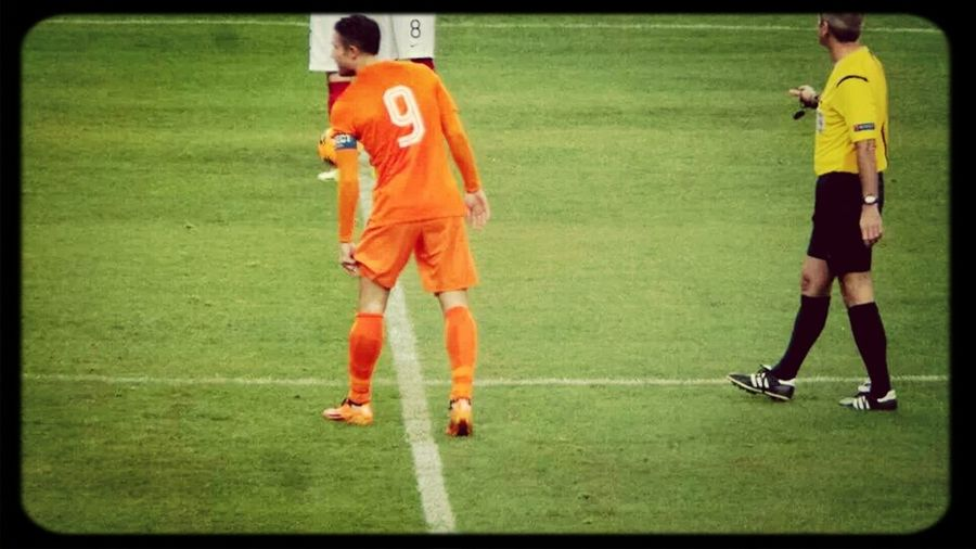 Robin Van Persie! Holland Playing Football