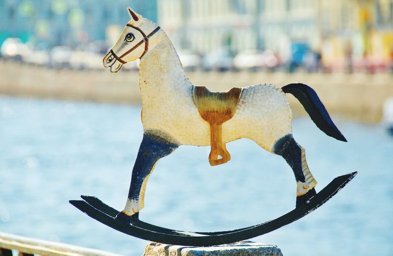 Saddle Toy Horse Ironhorse Iron Horse Rocking Chair No People Representing Water Animal Representation Animal Themes Carousel Horses Figurine  Toy Animal Foal The Street Photographer - 2019 EyeEm Awards