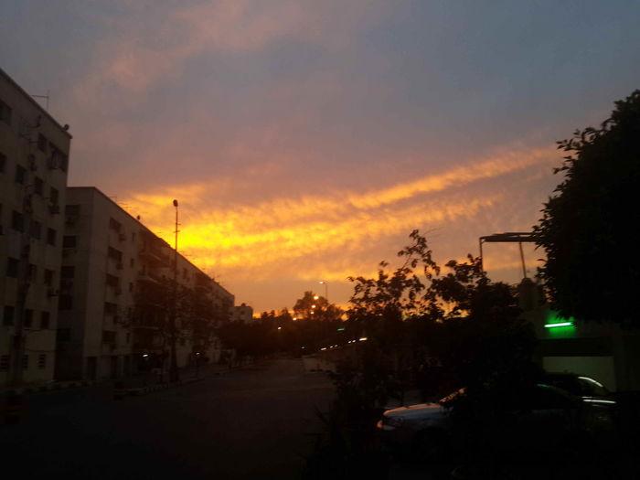 Sun Set Sun_ Collection Clouds