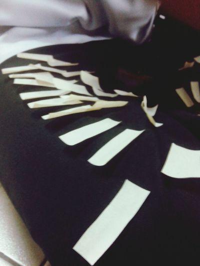 WHITE KEYS. kidding! Masking Tape Black And White Keys
