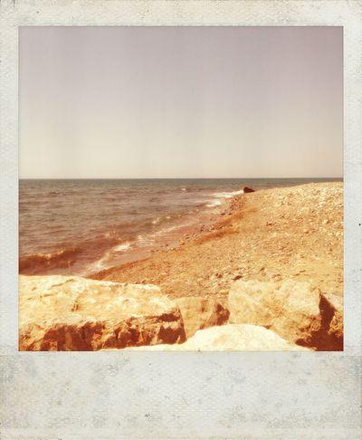Gold coast, all my life in ur lap. IPhoneography Polaroid Polamatic Beach Sea