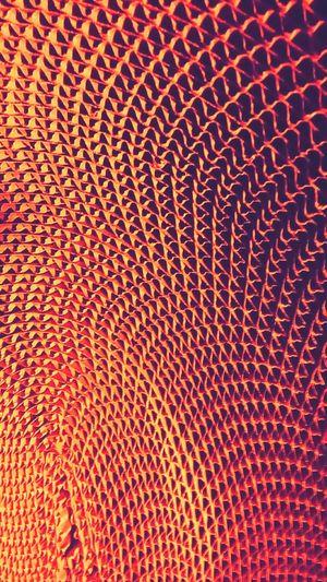 Abstract Spiral Orange Cardboard Maximum Closeness