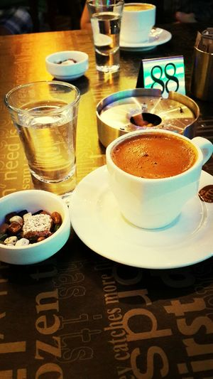 Türk kahvesi candır can ???☕