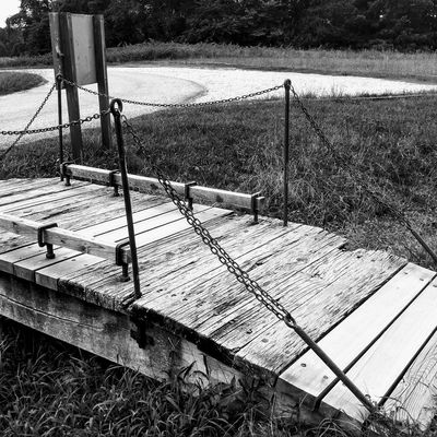 Outdoors Bridge Black And White Photography