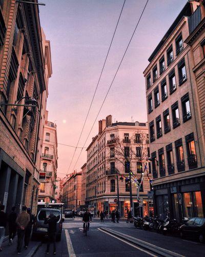 Lyon Streetphotography Onlylyon Sunset Sunset_collection Street France