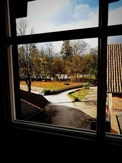 Window Sky Day Cloud - Sky Looking Through Window No People First Eyeem Photo
