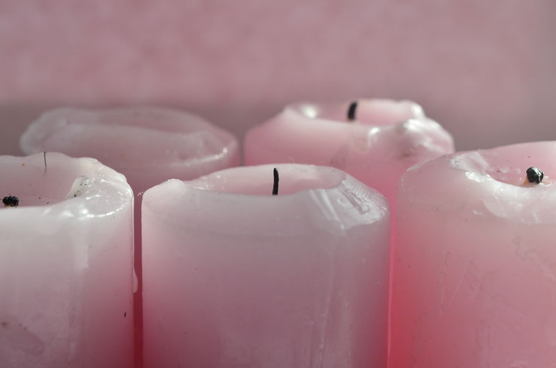 candles Candle Choice Close-up Container Home Home Interior Indoors  Indulgence Lifestyles Macro Organic Part Of Pastel Pastel Power Pink Real People Relaxation Ripe Sitting Still Life Table Temptation Wall Young Adult Young Women Millennial Pink