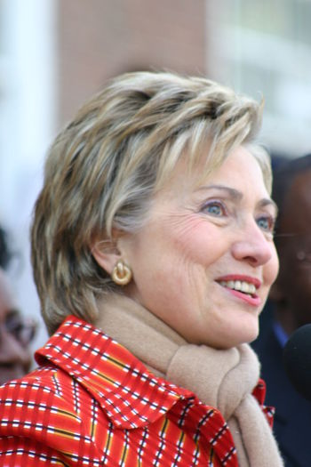 Close-up Former First Lady Headshot HILARY CLINTON Mount Vernon Ny Politician Portrait Secretary Of State Senator