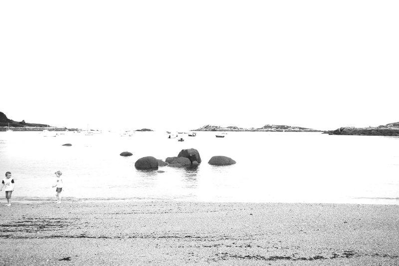 Beachphotography Beach Sea Blackandwhite Black And White Photography Bretagne Bretagnetourisme Black And White Rock