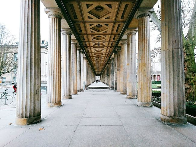 Architecture Columns Berlin, Germany  Forward Rainy Day Holiday In Berlin Smartphonephotography Finding New Frontiers Altes Museum Museumsinsel Berlin Neighborhood Map