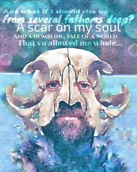 """""""And I was just like Jonah / Staring down the whale..."""" https://youtu.be/gudctYsho-U """"Jonah"""" - Guster ✨🎸😎 Lyrics Tadaa Community IPhoneography Reedit Enlightapp Getting Creative Cutandpaste No People Close-up Animal Themes Indoors  Day Mammal Music"""
