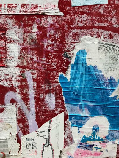Graffiti Architecture Street Art Built Structure Painted Image Paint Day Backgrounds Building Exterior Full Frame No People Paper Business Red Blue Outdoors Close-up City Multi Colored Berlin Photography Berliner Ansichten Berlin Abstract Vibrant Color Germany