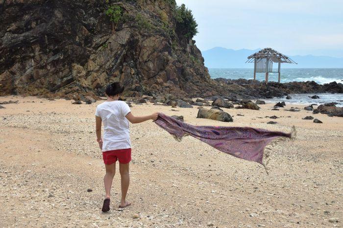BalerAuroraPhilippines Beach Real People Sand Sea Shore
