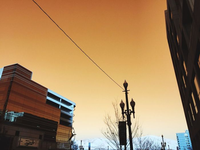 This Morning City City Life Retro Styled Colorful Urban Geometry Urban Urban Exploration Salt Lake City Utah Downtown Built Structure Buildings & Sky