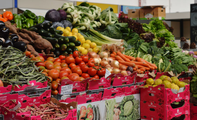 Market stand Food Freshness Healthy Eating Large Group Of Objects Market Market Stall Price Tag Tomato Vegetable