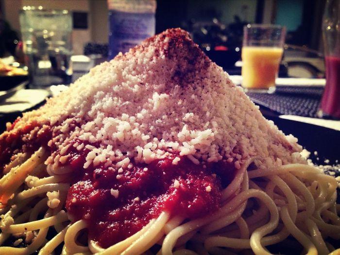 Mount Pasta!