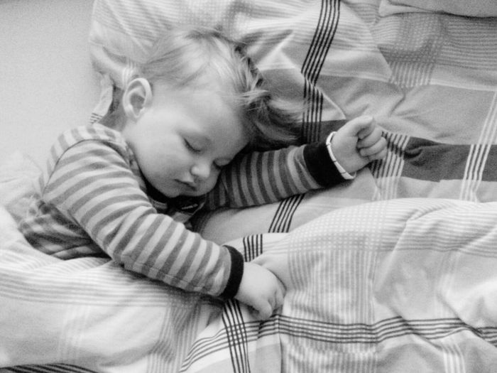 Lying Down Children Only Eyes Closed  Child Indoors  Childhood Portrait Love My Family ❤ Sleeping Baby  Love My Nephew Little Boy Sweet Dreams Blackandwhite Monochrome The Places I've Been And The Things I've Seen Autumn 2016 November2016