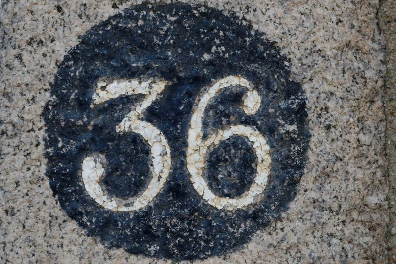 36 Numbers Only Sign Stencil Grey Number Numbers And Letters Thirtysix